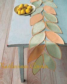 Make A Lovely Table Runner For Your Summer Table