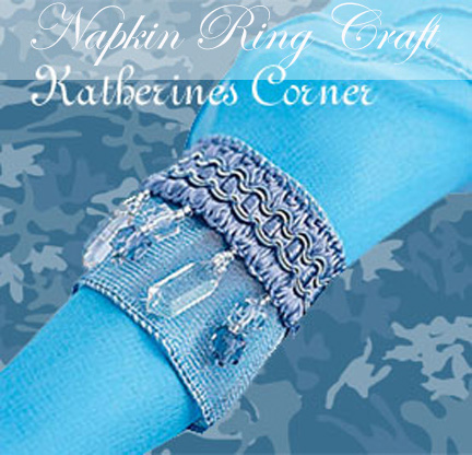 napkin ring craft katherines corner