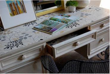 Wallpaper Scraps Crafts and Decorating