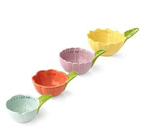 floral measuring cups katherines corner