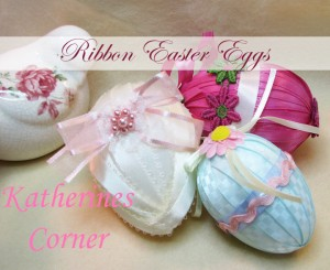 Easter Ribbon Eggs