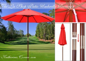 the la shop patio umbrella product review