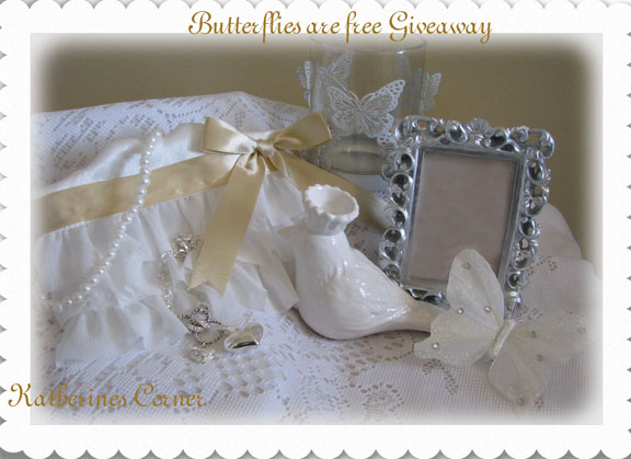 Butterflies Are Free Giveaway