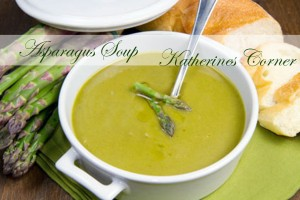 Meatless Monday Recipe Asparagus Soup