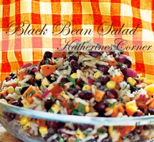 black bean salad katherines corner