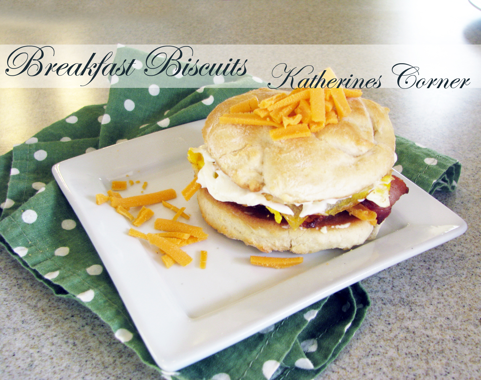 Meals On Monday, Breakfast Biscuits
