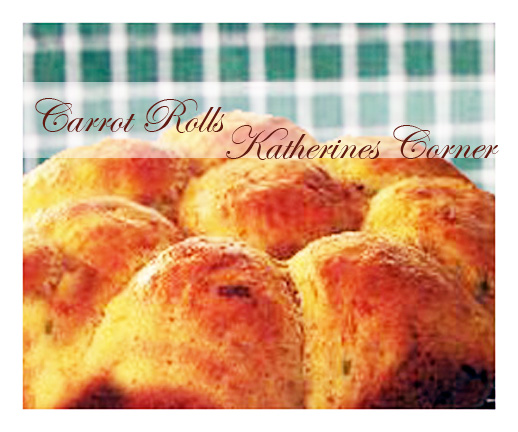 Meatless Monday Crazy for Carrots, Carrot Rolls Recipe