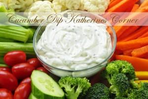 cucumber dip katherines corner