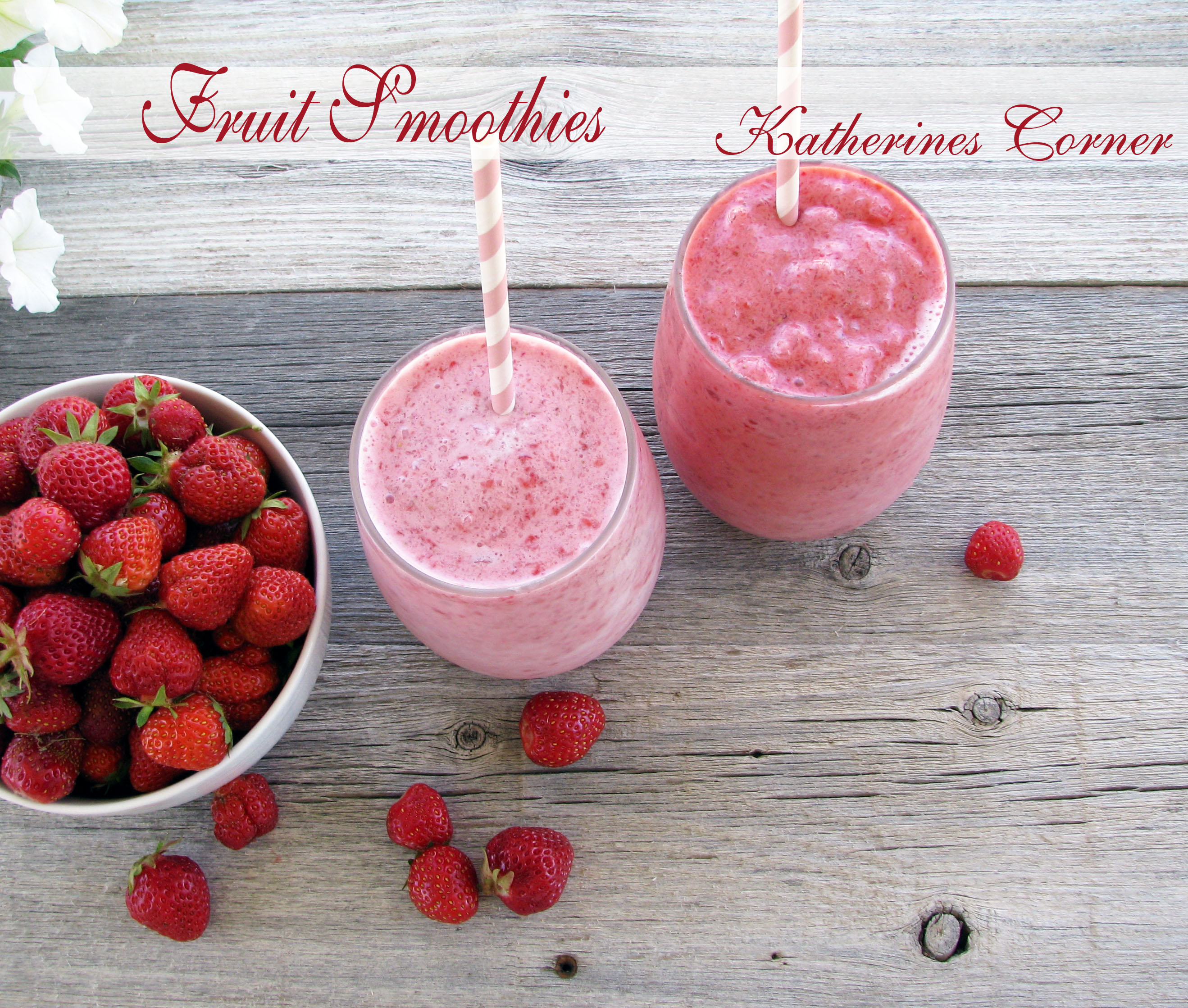 Low Fat Fruit Smoothies