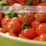 garlic herb tomatoes katherines corner