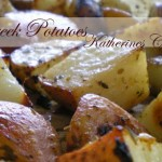 greek potatoes Katherines Corner