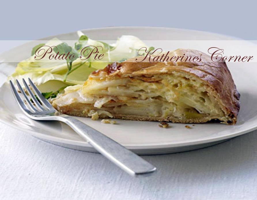 Veggie Recipe Potato Pie