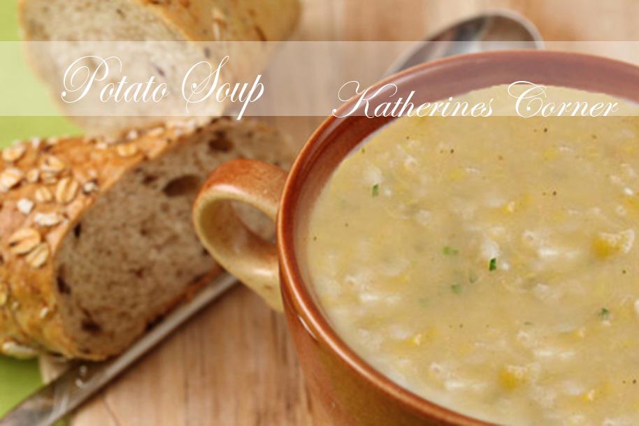 Meals On Monday Cream Of Potato Soup
