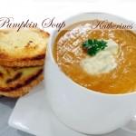 pumpkin soup katherines corner