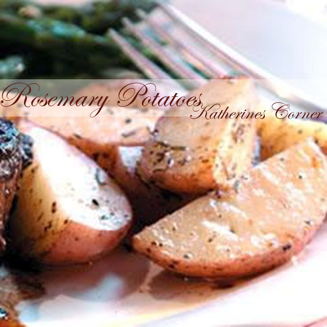 Meatless Monday, Rosemary Potatoes