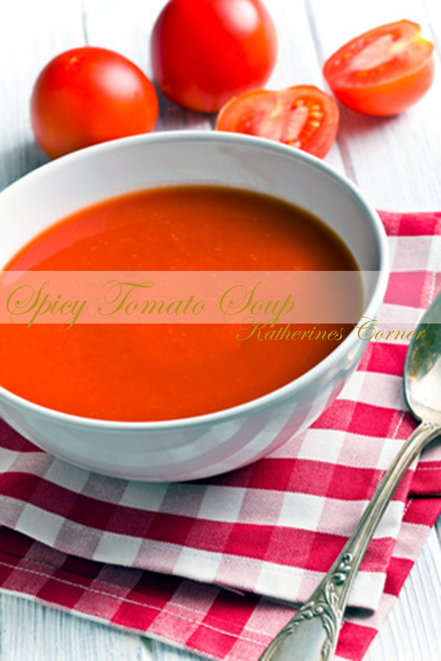 Comfort Food Spicy Tomato Soup