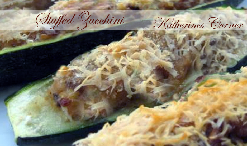 Meatless Monday is Back with Katies Stuffed Zucchini
