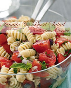 tomato and basil salad katherines corner