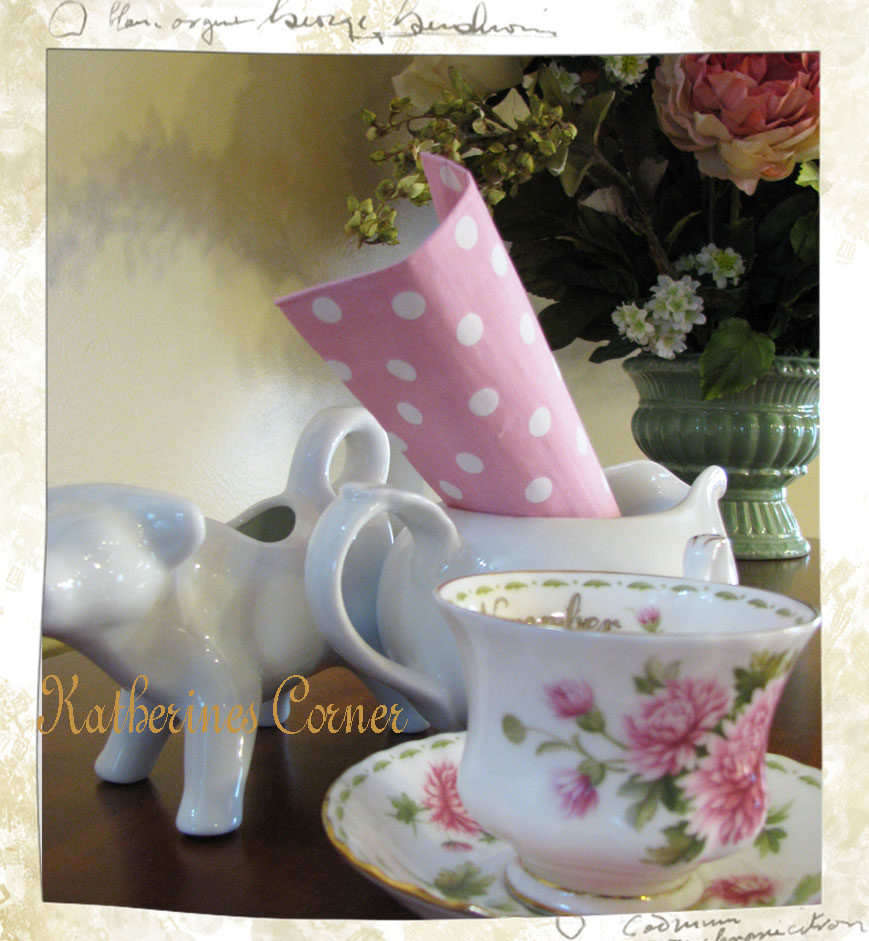 Wordless Wednesday Pink Polka Dots