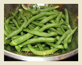 Meatless Monday Take Away Green Beans