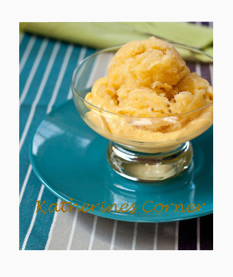 Meatless Monday, Mango Sorbet