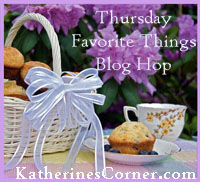 Thursday Favorite Things Blog Hop 85