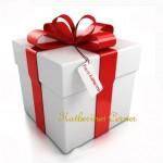 gift white wirh red