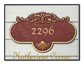 2296 house sign