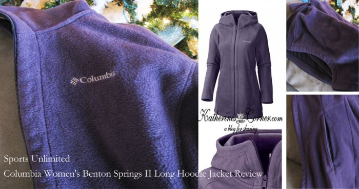 Sports Unlimited Columbia Women's Benton Springs Long Hoodie Jacket review