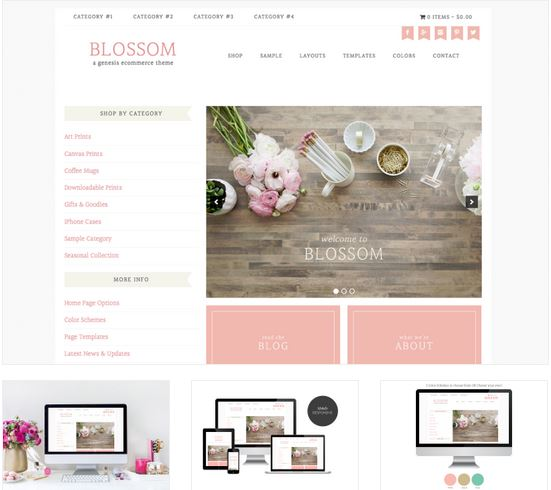 pretty blog designs