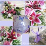 anniversary flowers collage kcb