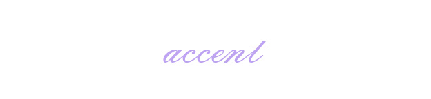 Tid Bit Tuesday Accent