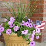 fourth of july planter