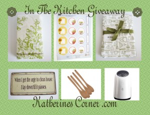 In The Kitchen Giveaway
