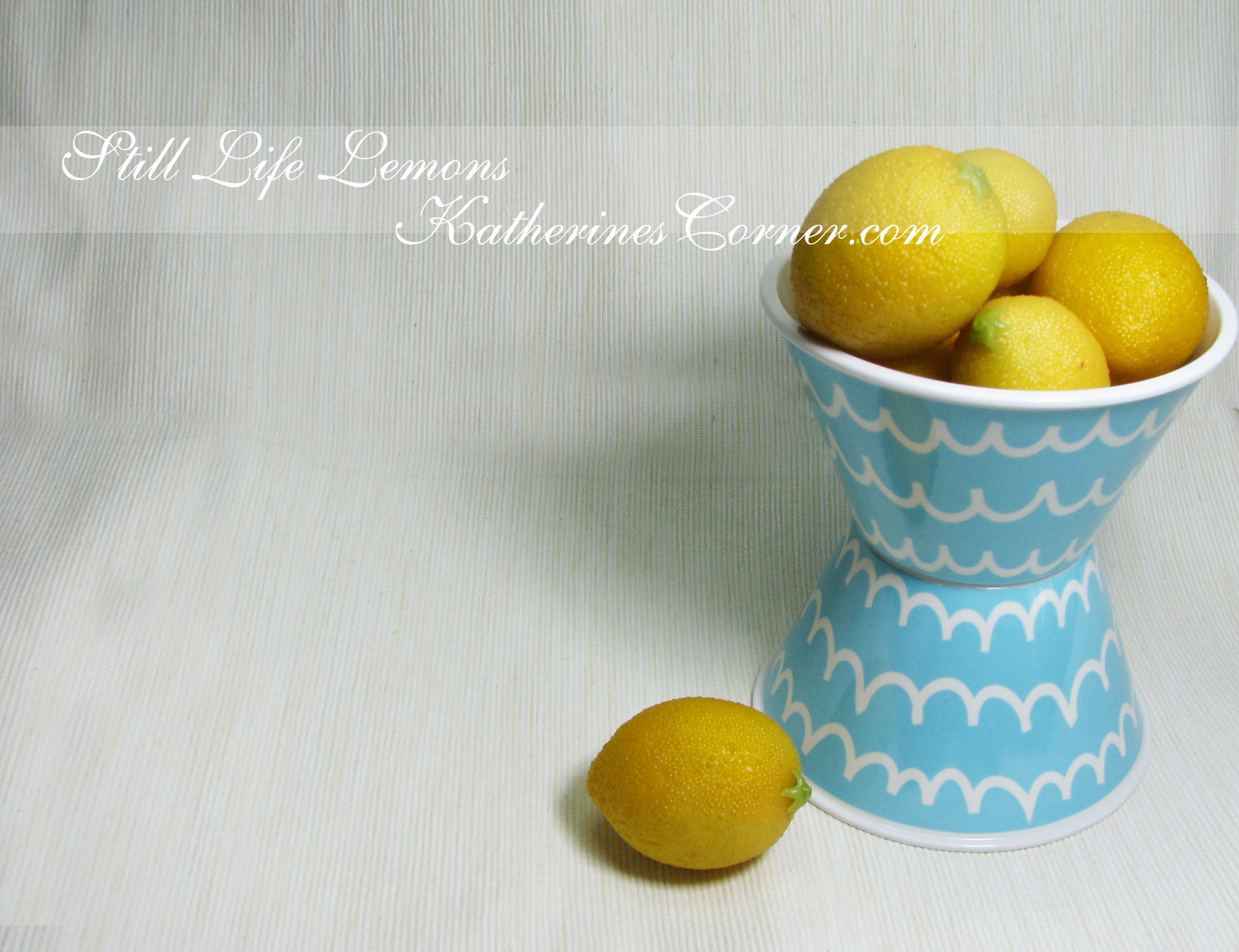 Still Life Lemons