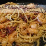 shrimp and bacon linguine katherines corner