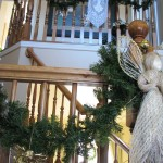 Christmas bannisters Katherines Corner