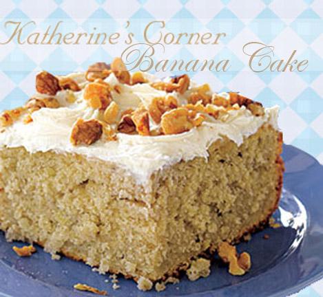 banana cake katherines corner