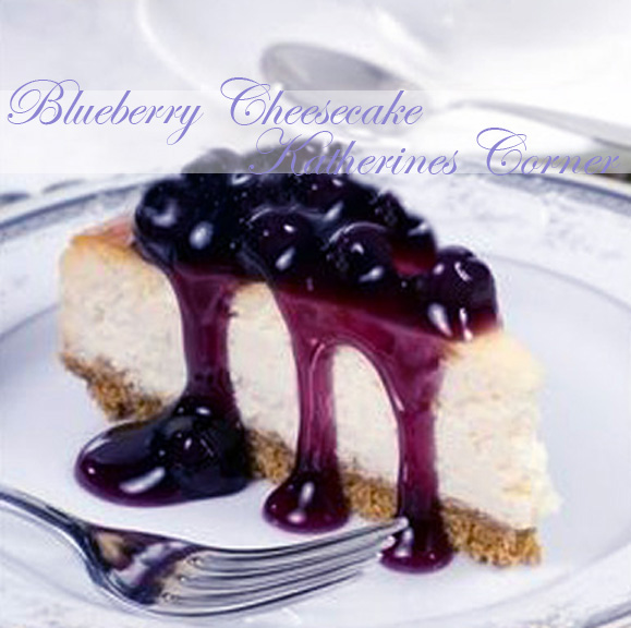 Meals On Monday Blueberry Cheesecake Katherines Corner