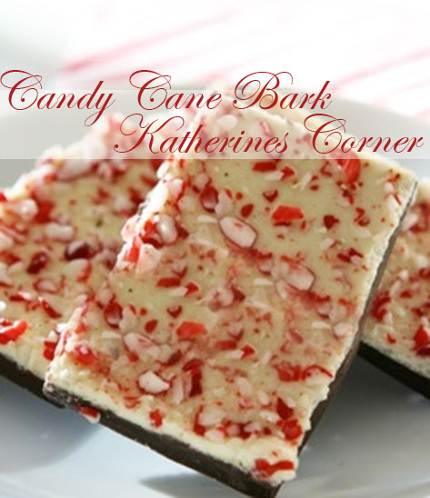Candy Cane Bark Two Recipes