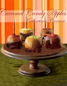 caramel candy apples katherines corner