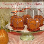 caramel spider web apples katherines corner