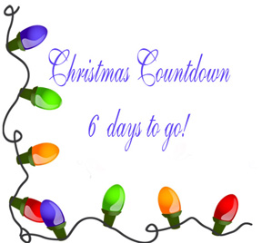 christmas countdown 6 days katherines corner