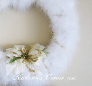 feather wreath craft katherines corner