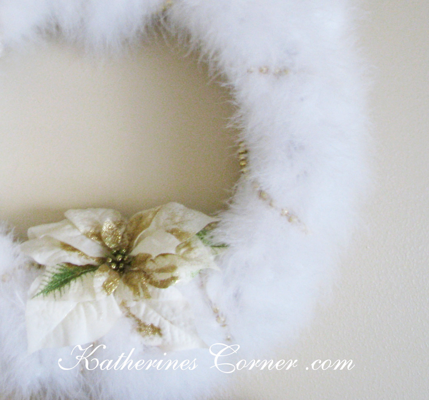 Feather Wreath DIY