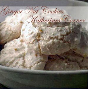 ginger nut cookies katherines corner