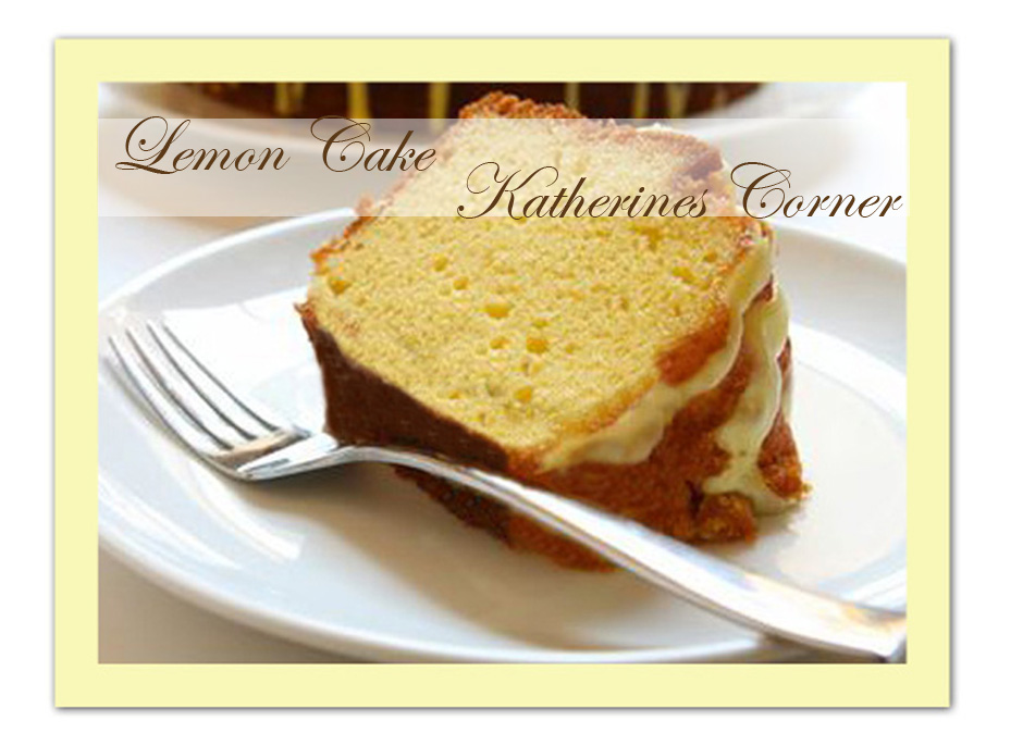 Meals on Monday Lemon Cake