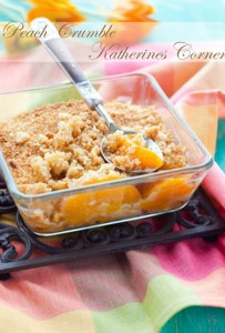 peach crumble katherines corner