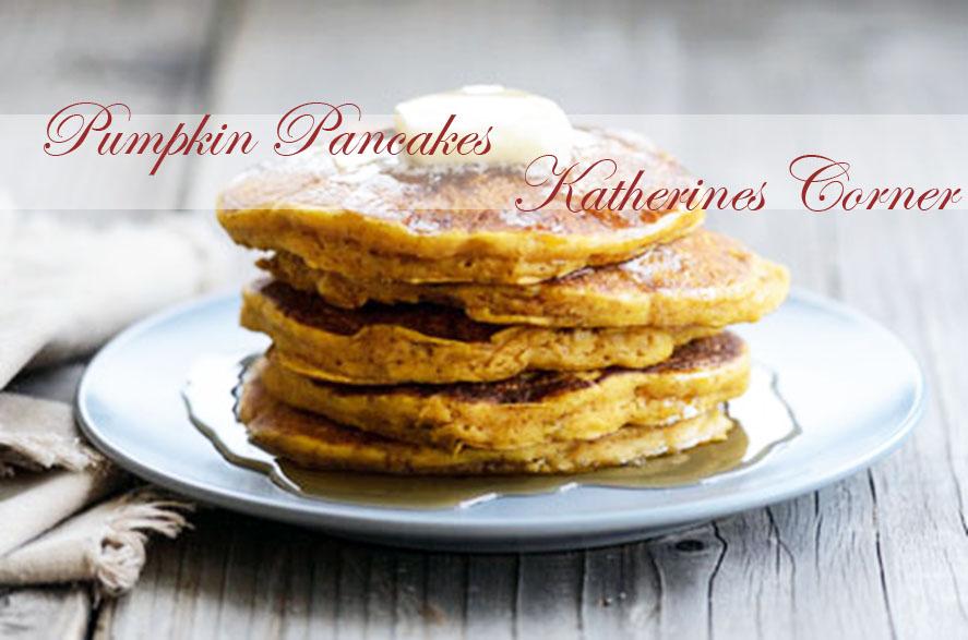 pumpkin pancakes katherines corner