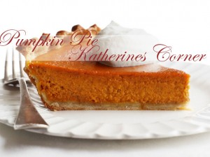 pumpkin pie katherines corner